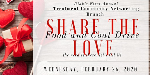 Share the LOVE - Treatment Professionals FOOD & COAT Drive