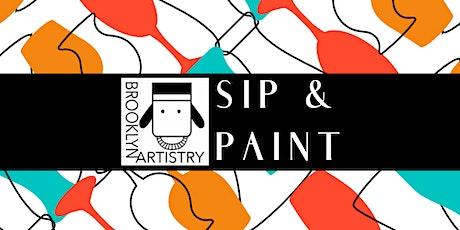Brooklyn Artistry Sip & Paint tickets