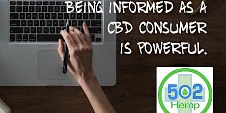 CBD 101+ Learn more! tickets