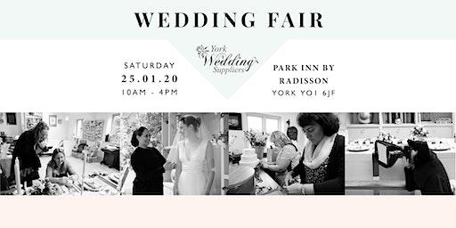 Wedding Fair York-Park Inn-Sat 25th Jan 2020- York Wedding Suppliers- WMB