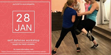 Self Defense Workshop with Heidi Lyndaker tickets