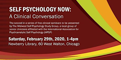 SELF PSYCHOLOGY NOW:  A Clinical Conversation tickets
