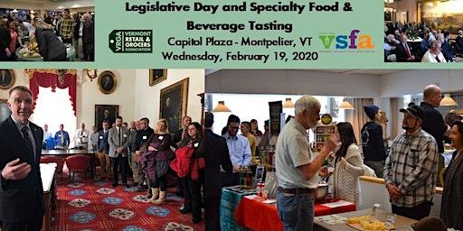 2020 Legislative Day and Specialty Food & Beverage Tasting