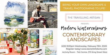 Modern Watercolours: Contemporary Landscapes  tickets