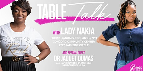 The Rock Church Women Present - Table Talk tickets