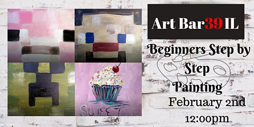 Kids Step By Step Paining Party