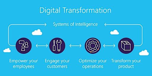 Digital Transformation Training in Jackson | Introduction to Digital Transformation training for beginners | Getting started with Digital Transformation | What is Digital Transformation | January 20 - February 12, 2020
