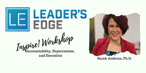 Leader's Edge June Inspire! Workshop