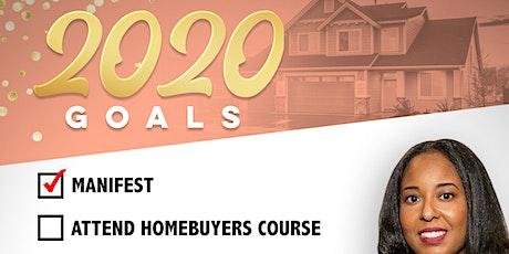 2020 Homebuyer Goals tickets