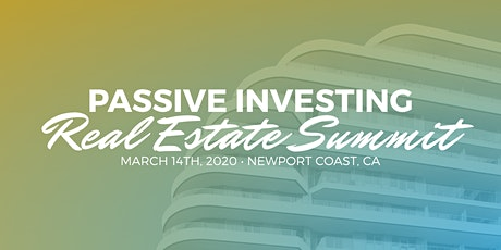 Passive Investing Real Estate Summit tickets