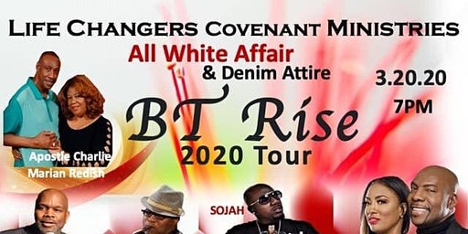 BT Rise 2020 Tour (An all White Affair)