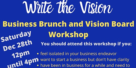 Write The Vision  Brunch and Vision Board  Workshop  Q2 tickets