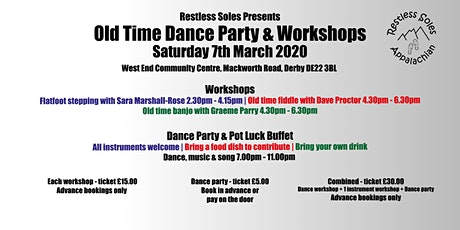 Old Time Dance Party & Workshops tickets