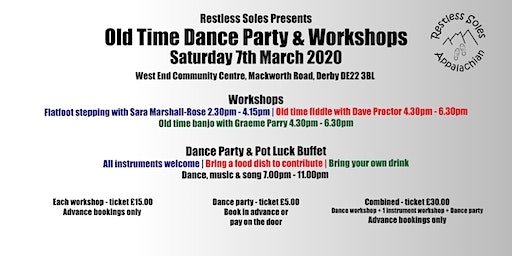 Old Time Dance Party & Workshops