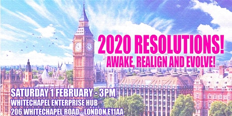 2020 resolutions! Awake, realign and evolve! tickets