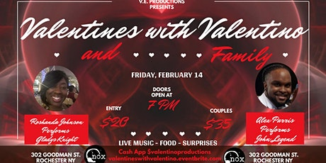 Valentines With Valentino & Family tickets