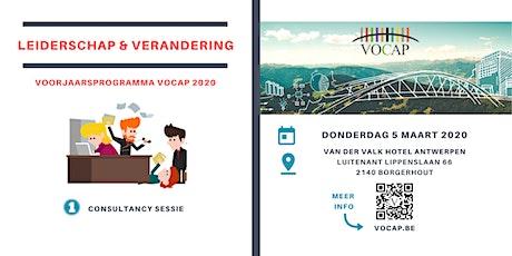 VOCAP Themareeks Leiderschap & Verandering | Deel 1: Sessie Consultancy | Max Wildschut tickets