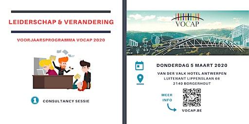 VOCAP Themareeks Leiderschap & Verandering | Deel 1: Sessie Consultancy | Max Wildschut