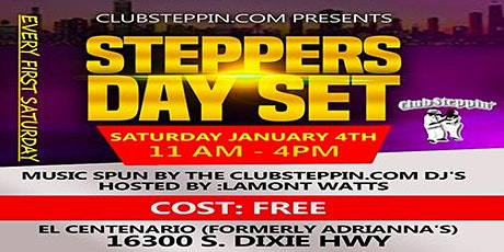 ClubSteppin Day Set tickets
