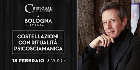 """Cristobal Jodorowsky """"Costellazioni psicosciamaniche"""" Bologna biglietti"""