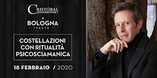 """Cristobal Jodorowsky """"Costellazioni psicosciamaniche"""" Bologna"""