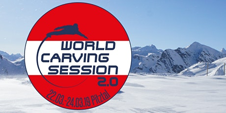 WCS World Carving Session 13. - 15. März 2020 Pitztal 2.0 Tickets