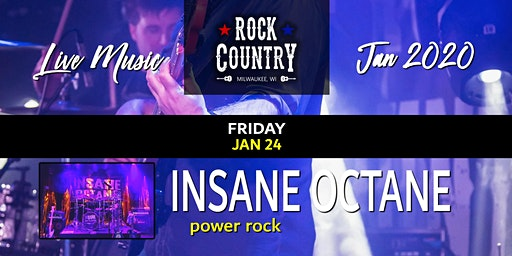 Insane Octane (Power Rock) at Rock Country!