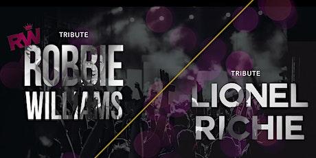 Tribute Robbie Williams / Lionel Richie tickets