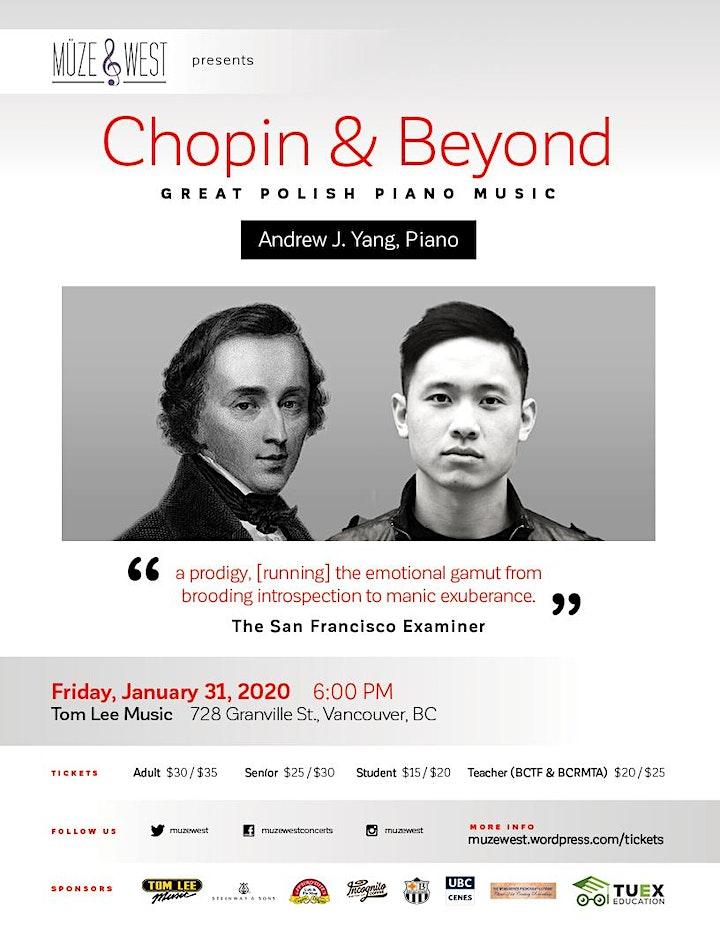 Chopin and Beyond - Great Polish Piano Music image