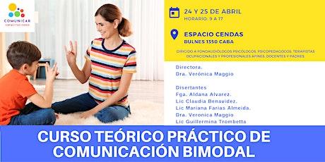 Curso Teórico Práctico de Comunicación Bimodal entradas