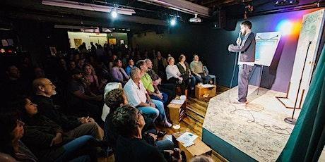 Rick Jenkins hosts Kindra Lansburg, Mark Gallagher and Kwasi Mensah! tickets