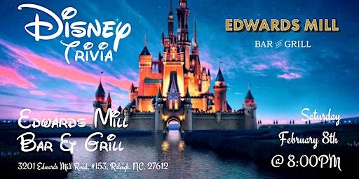 Disney Movie Trivia at Edwards Mill Bar & Grill