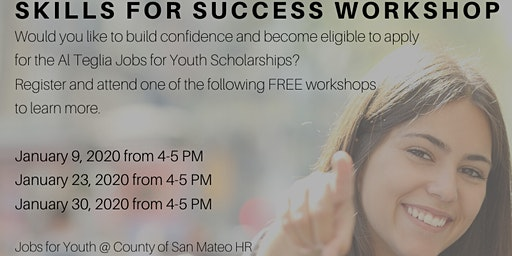 Jobs for Youth Skills for Success Workshops