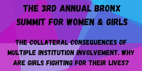 Girl Vow's Third Annual Bronx Summit for Women and Girls tickets