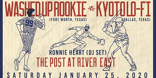 Washed Up Rookie, Kyoto Lo-Fi, Ronnie Heart at The Post