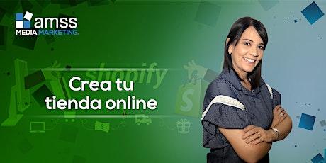 Taller Crea tu Tienda OnLine con Shopify (Semi-Privado 8 horas contacto) entradas