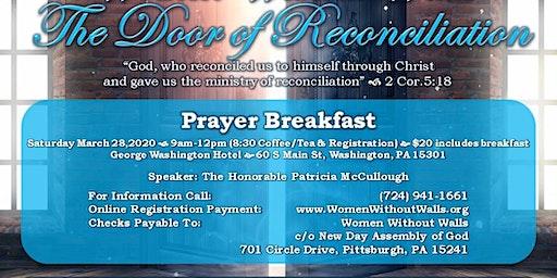 Women Without Walls Prayer Breakfast