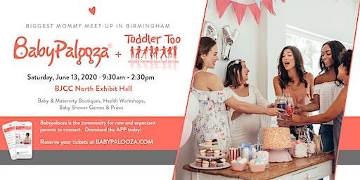 Babypalooza Baby & Maternity Expo - Birmingham, AL 2020