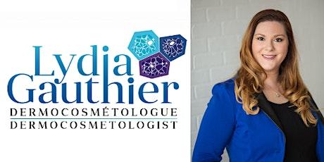 Conférence de Lydia Gauthier 27 janvier 2020  billets