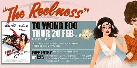 THE REELNESS! A queer film night with free-flowing booze. tickets