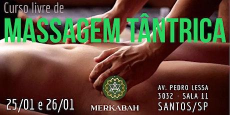 Curso livre de massagem tântrica ingressos