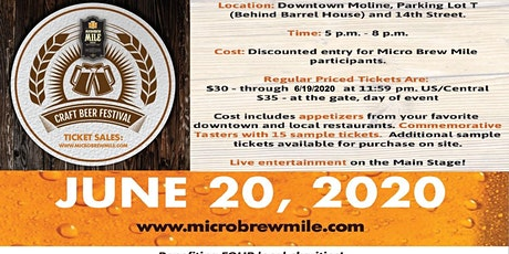 Micro Brew Mile Craft Beer Festival tickets
