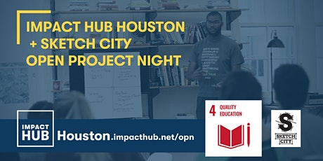 Open Project Night: SDG 4 Quality Education tickets