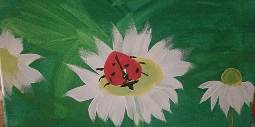 Pour & Paint Ladybug