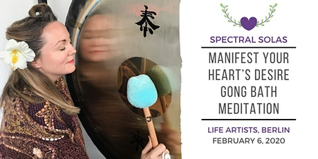 Yoga Nidra + Gong Bath: Manifest Your Heart's Desire  tickets
