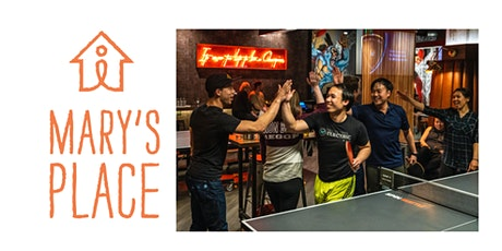 SPIN x Mary's Place 2nd Annual Doubles Ping Pong Tournament tickets