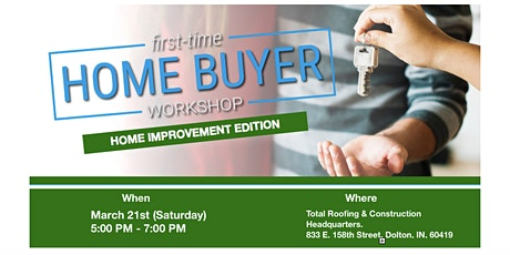 Home Improvement -1st time homeowner edition: Tips from the trades and pros tickets