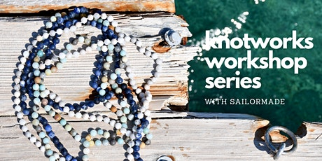 Learn to make a Whatknot Beaded Necklace. tickets