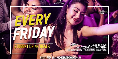 Fridays at Piccadilly Institute // £2.50 Drinks tickets