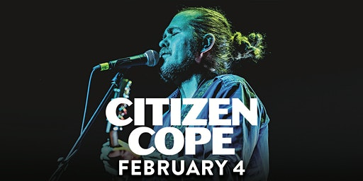 Citizen Cope (6:30pm Show)
